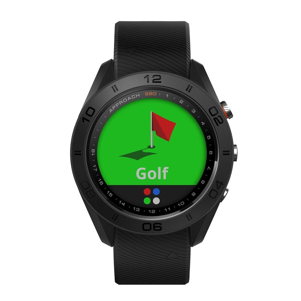 GARMIN ガーミン Approach S60 アプローチS60 ゴルフナビ ブラック 010-01702-20 【安心の3年保証】スマートウォッチ ウェアラブル