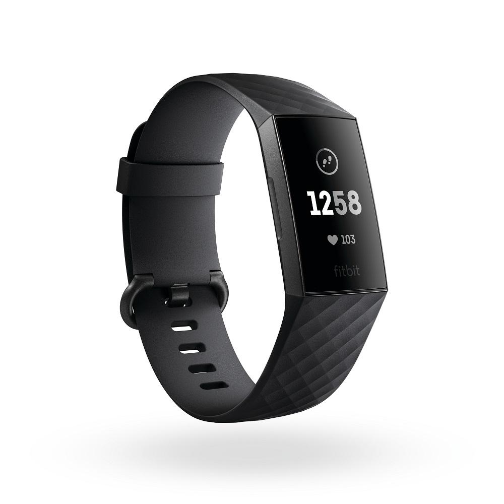 Fitbit Charge 3 フィットビット チャージ 3 FB410GMBK-CJK 【安心の3年保証】スマートウォッチ ウェアラブル
