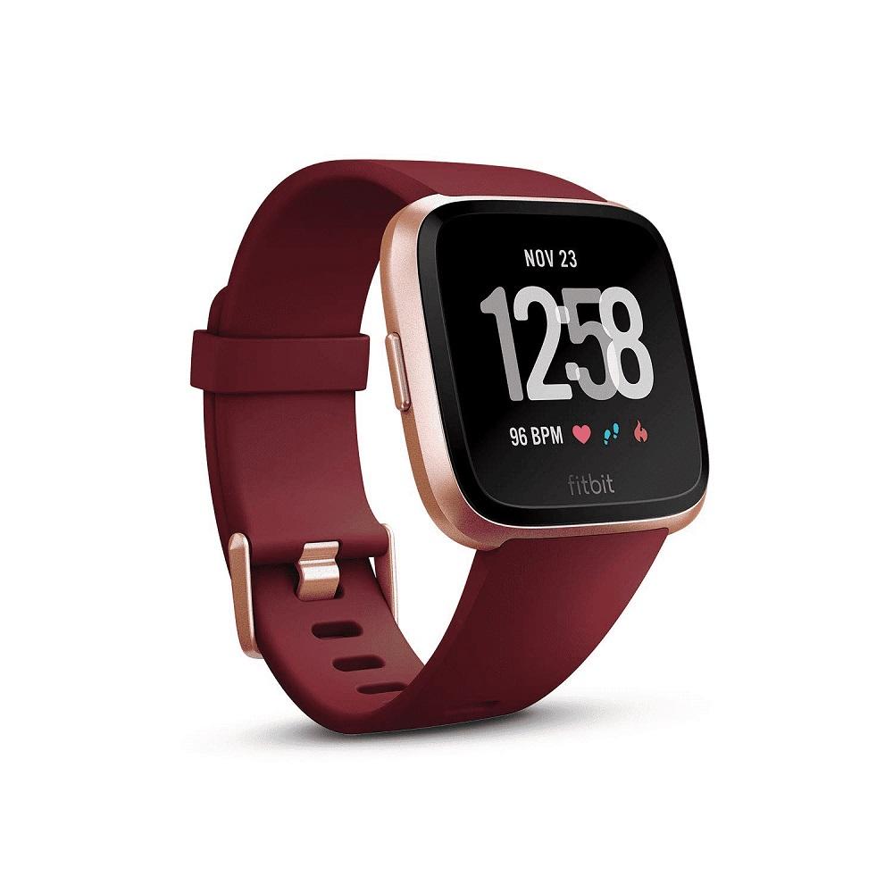 在庫あります!Fitbit Versa フィットビット ヴァーサ FB505RGRD-EU 【安心のメーカー1年保証】スマートウォッチ ウェアラブル 心拍数 健康