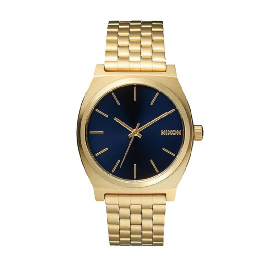 NIXON ニクソン TIMETR ALL LIGHT GOLD/COBALT NA0451931-00 【安心の3年保証】