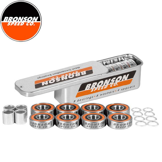 【BRONSON SPEED CO.】G3 Skateboard Bearings(8Pack)(ブロンソン スケートボード ベアリング 1セット/8個入り)/