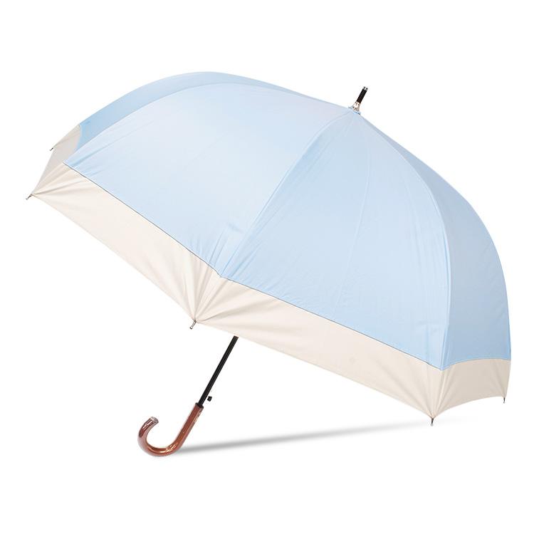 【ポイント10倍】日傘 完全遮光 遮光率100% UVカット99.9% UPF50+ 耐風 ワンタッチ ジャンプ 深張り 晴雨兼用 レディース 傘  母の日 プレゼント ギフト