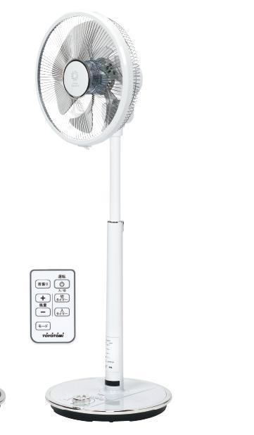【送料無料】【カ-ドOK】トヨトミ DCハイポジション扇風機 FS-D30HHR(W・ホワイト)《再生品》☆沖縄・離島は800円の追加を頂きます!☆お子様にも安全なタッチストップ機能付再生品ですので、返品・交換は出来ません。