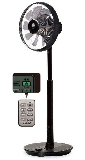 【送料無料】【カ-ドOK】トヨトミ DCハイポジション扇風機 FS-DS30GHR(BM・ダークウッド)☆沖縄・離島は800円の追加を頂きます!☆◎人感センサー・お子様にも安全なタッチストップ機能付!◎◎お部屋の空気を循環させる為に羽根を上向きに出来ます。◎