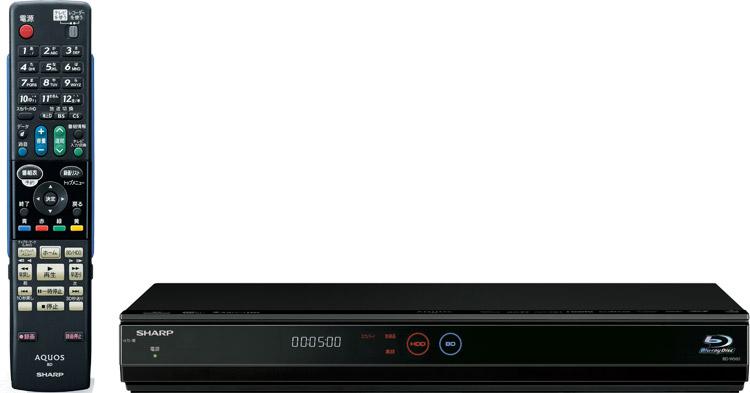 【送料無料】【カードOK】シャープ AQUOS ブルーレイディスクレコーダー BD-W500スカパーHDチューナー内臓 HDD容量 500GB