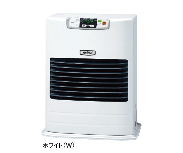 【送料無料】【カードOK】トヨトミFF式石油ストーブ温風タイプ 油タンク別置き FF-55G-W(ホワイト) ☆沖縄・離島地域は送料の追加を頂きます☆