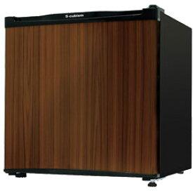 1ドア冷蔵庫 46L RM-46L01DW 木目調(S-cubism)◎この冷蔵庫の前面の扉の色は木目調の柄になってます◎★沖縄・離島地域には送料の追加を頂きます。★☆代引きでのお取り扱いは御座いません。☆