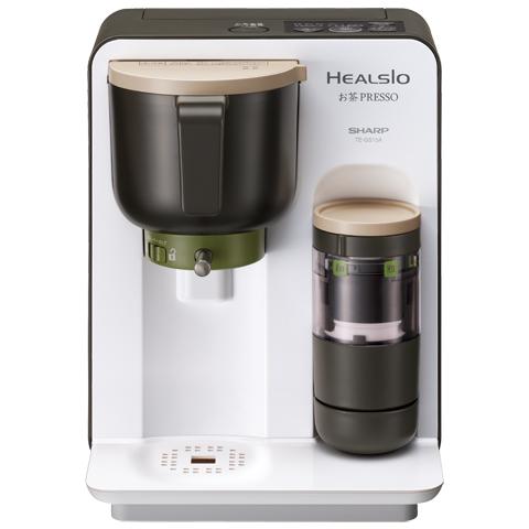 【カードOK】【送料無料】シャープ お茶メーカー ヘルシオお茶プレッソ TE-GS10A-W(ホワイト系)おいしく楽しいお茶生活を彩る