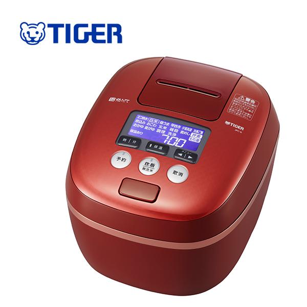 【送料無料】タイガー魔法瓶 JPC-G100 RC 圧力IH炊飯ジャー レッドクレイ