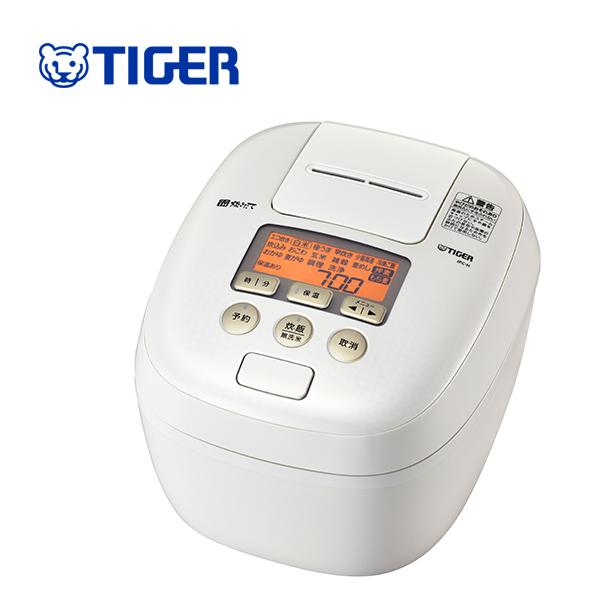 【送料無料】タイガー魔法瓶 JPC-H100 WS 圧力IH炊飯ジャー シルキーホワイト