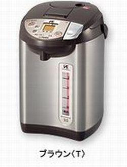 【2160円以上送料無料】 タイガー魔法瓶 蒸気レスVE電気まほうびん(とく子さん)3.0L ブラウン PIB-A300 T