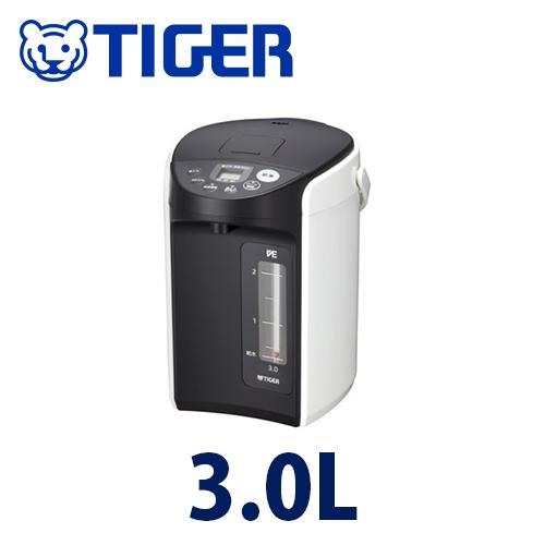 【2160円以上送料無料】 タイガー VE電気まほうびん3.0L(ホワイト)  PIQ-A300