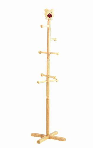 かわいい くま のコートハンガーです 秀逸 2160円以上送料無料 木製ジュニアポールハンガー 駅伝_近畿 今だけ限定15%OFFクーポン発行中 N-9843 b_2sp0523