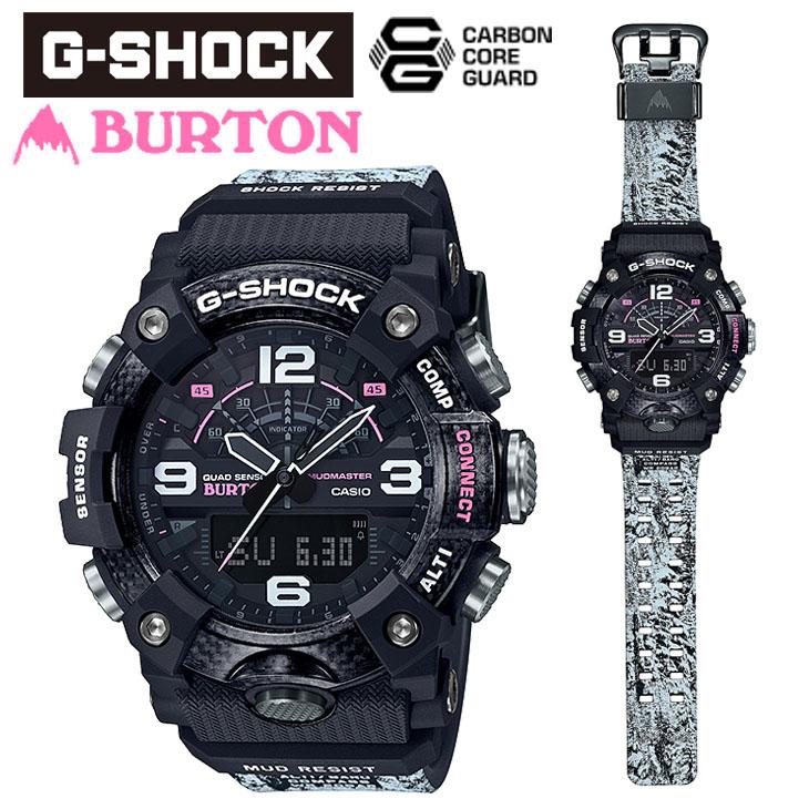 20 G-SHOCK ジーショック BURTON バートン コラボレーションモデル 腕時計 20気圧防水 耐衝撃 防塵 防泥性能 メンズ 品番 GG-B100BTN 1AJR スノボ 日本正規品