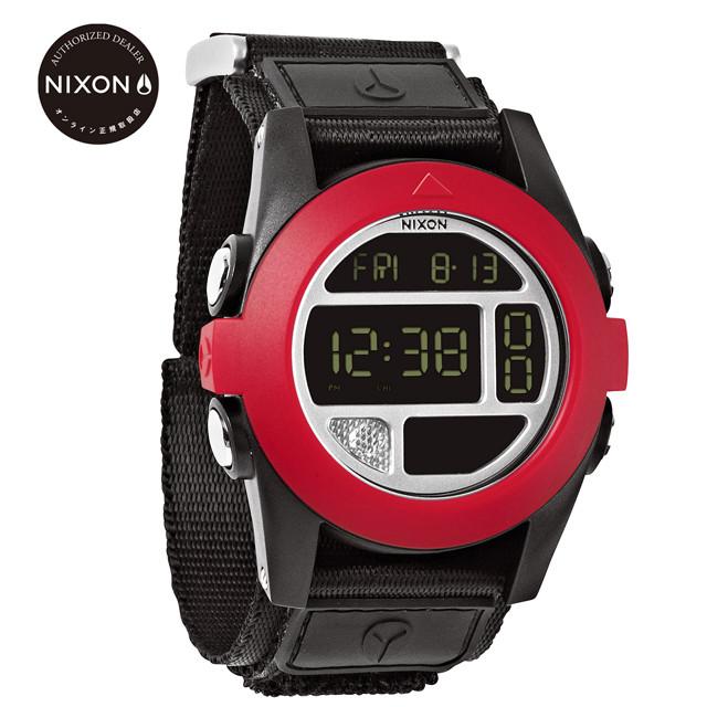 NIXON ニクソン 腕時計 メンズ腕時計 THE BAJA バハ ALL BLACK / RED オールブラック/レッド オンライン正規取扱店 日本正規品