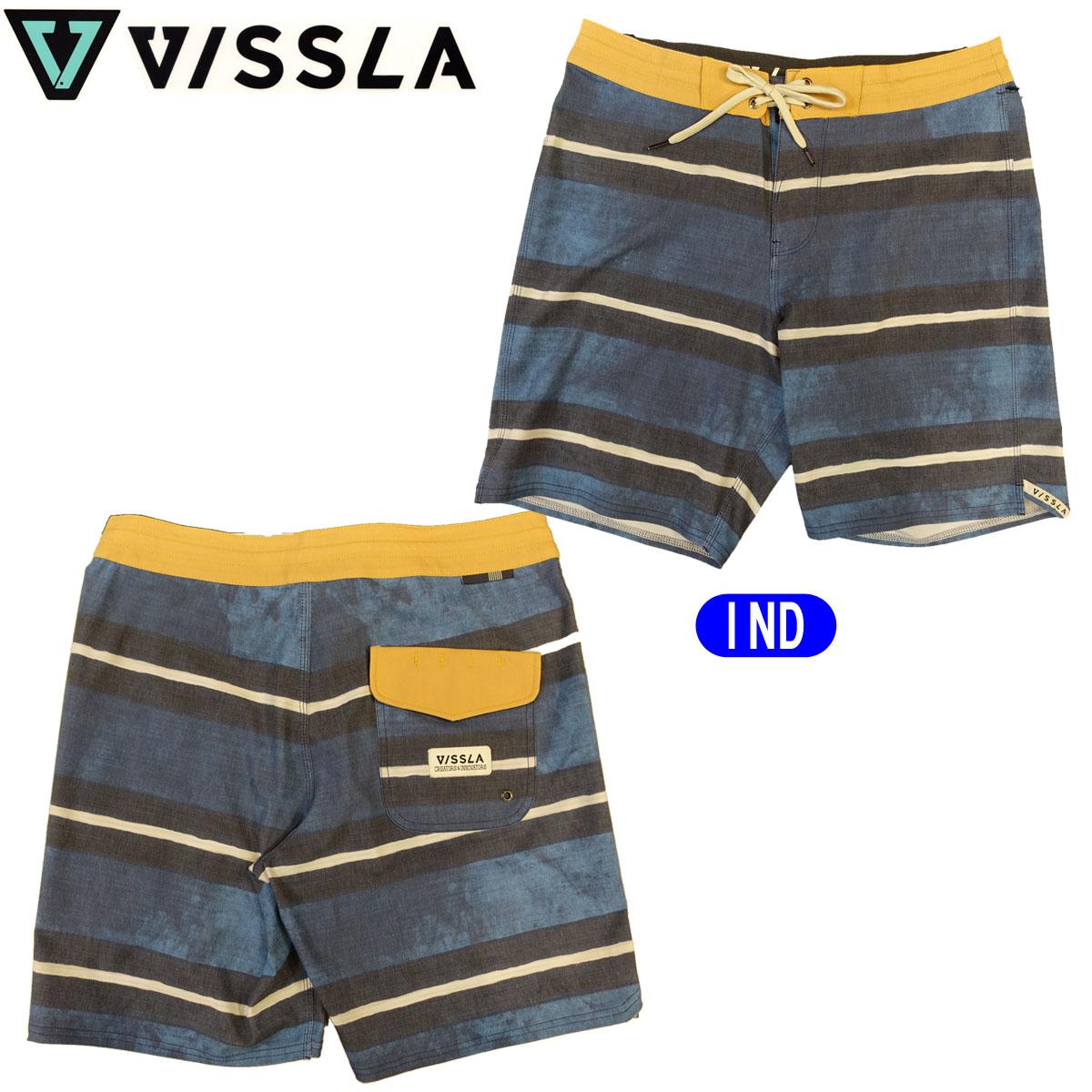 【VISSLA(ヴィスラ)】ボードショーツ 海パン 水着 品番:M1044VIC 即日出荷 日本正規品 メール便(送料無料)