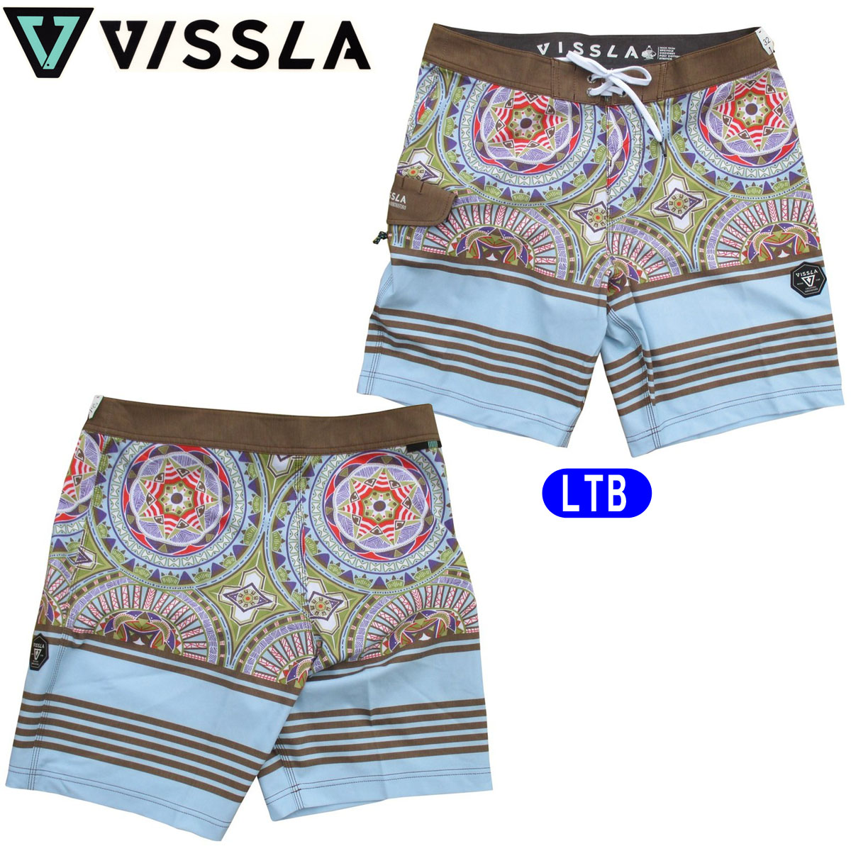【VISSLA(ヴィスラ)】ボードショーツ 海パン 水着 品番:M1048SUI16SP 即日出荷 日本正規品 メール便(送料無料)