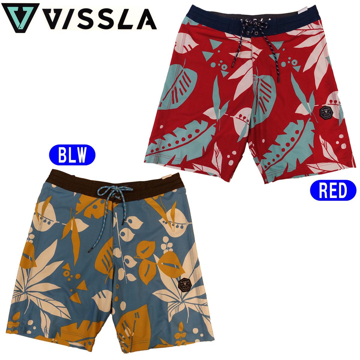 VISSLA ヴィスラ ボードショーツ 海パン 水着 品番 M1082STY 日本正規品