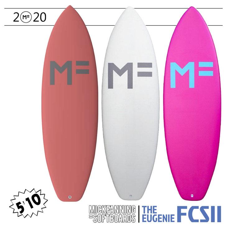 2019年モデル EUGENIE FCS2 3FIN【MF SOFTBOARD×MICK FANNING(ミックファニング ソフトボード)】サーフボード エウゲニエ 5'10×20×2 5/8 日本正規品 品番:F19-MF-EUP(EUW)-510