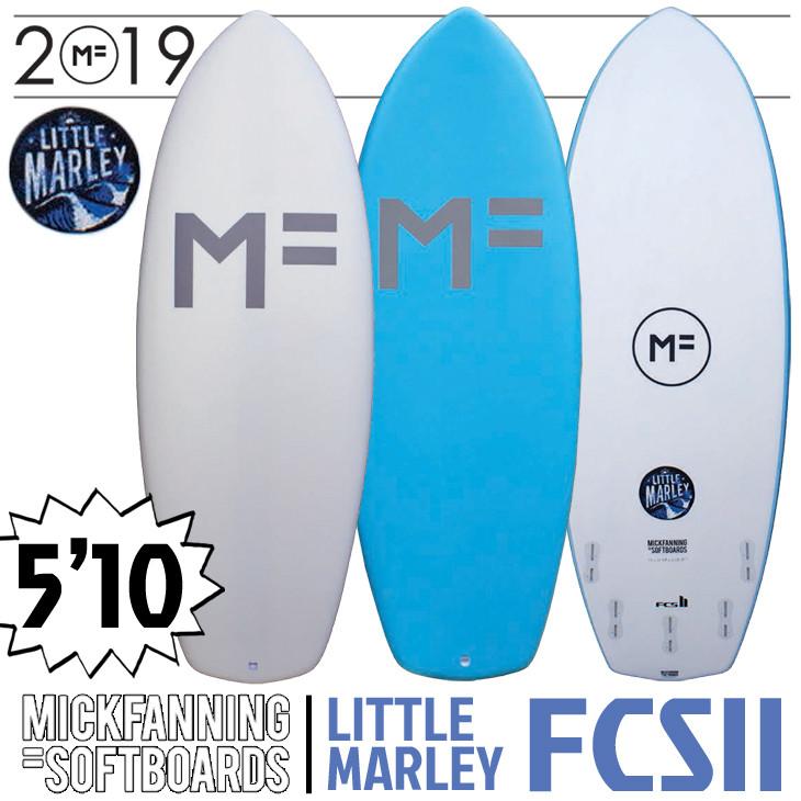 ミックファニング ソフトボード サーフボード リトルマーレー 2020年モデル LITTLE MARLEY FCS2 5FIN MF SOFTBOARD×MICK FANNING 5'10×22 1/2×2 13/1 品番 F20-MF-LMW/LMA-510 日本正規品