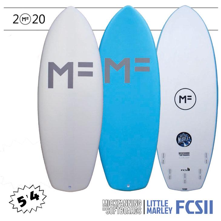ミックファニング ソフトボード サーフボード リトルマーレー 2020年モデル LITTLE MARLEY FCS2 5FIN MF SOFTBOARD×MICK FANNING 5'4×21 3/8×2 3/8 品番 F20-MF-LMW/LMA-504 日本正規品