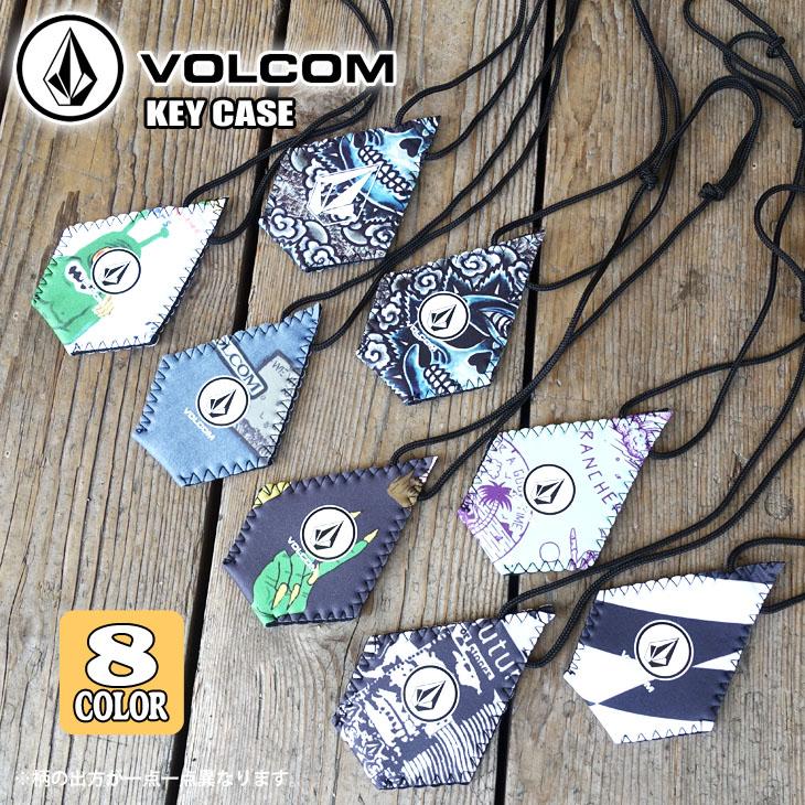 19 VOLCOM ボルコム キーケース キーカバー キーポケット 鍵用ストラップ 鍵入れ KEY CASE ウエット素材 サーフィン 日本正規品