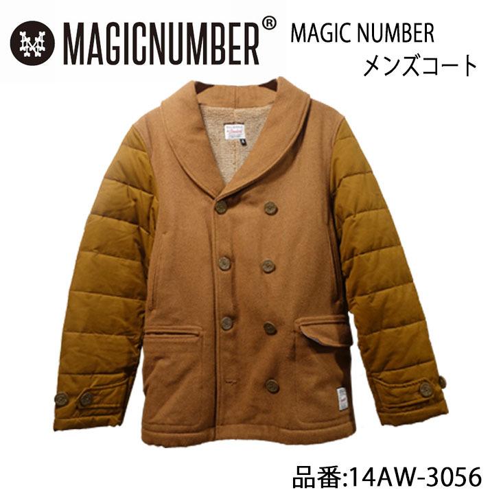MAGICNUMBER マジックナンバー コート メンズモデル 品番 14AW-3056 日本正規品