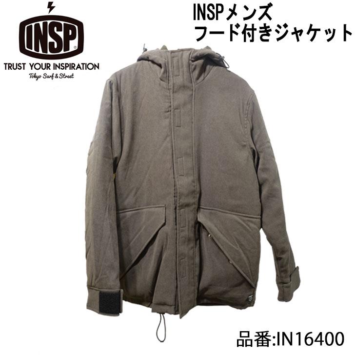 【INSP(インスピ)】 フード付きジャケット メンズモデル 品番:IN16400 日本正規品