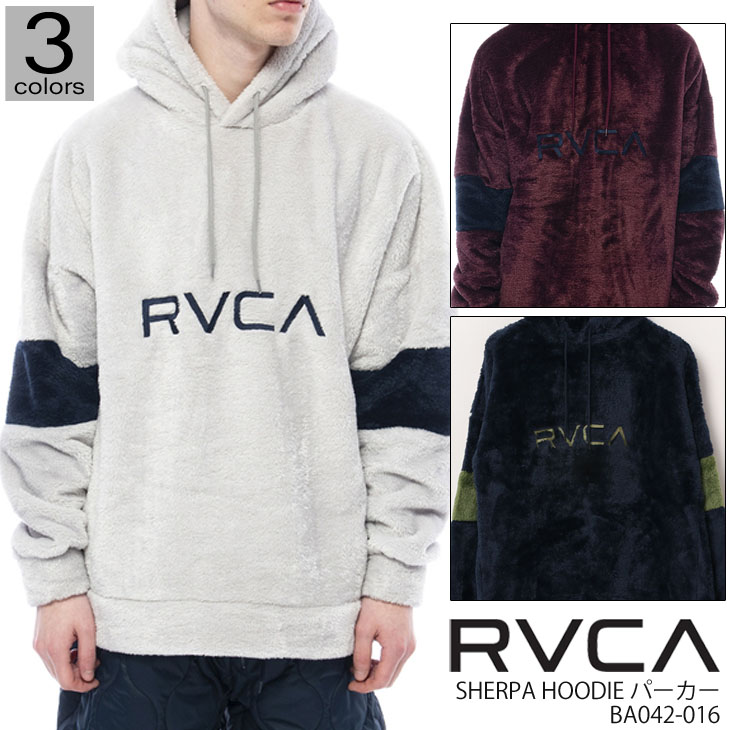 20 RVCA ルーカ SHERPA HOODIE パーカー トレーナー トップス メンズ 2020年秋冬 品番 BA042-016 日本正規品