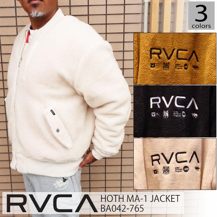 品番 JACKET HOTH 日本正規品 リバーシブル RVCA MA-1 2020年秋冬 20 ジャケット メンズ BA042-765 ルーカ
