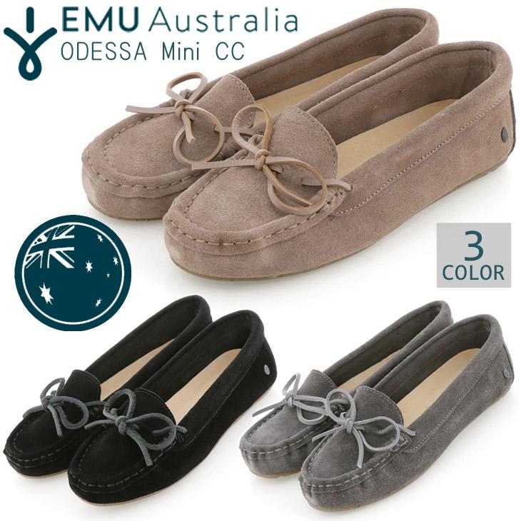 EMU Australia エミュー オーストラリア Odessa Mini CC モカシン 日本限定 シープスキン シューズ 靴 ボア 保温 品番 W12542 日本正規品