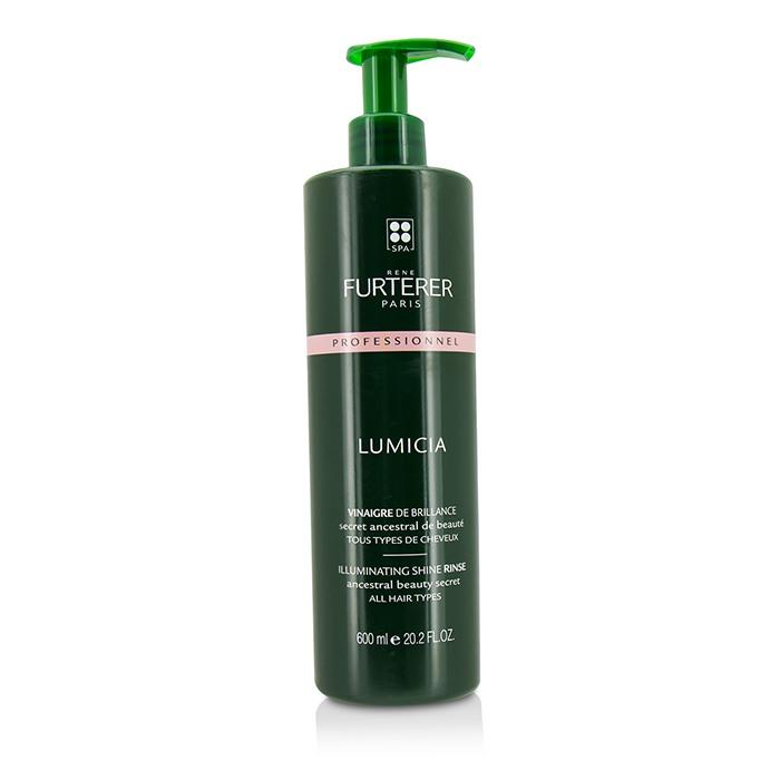ルネ フルトレール Rene Furterer Lumicia Illuminating Shine Rinse - All Hair Types (Salon Product) 600ml/20.2oz 【海外直送】