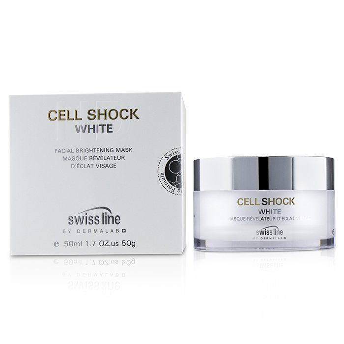 スイスライン SwisslineCell Shock White Facial Brightening Mask50ml/1.7oz【海外直送】