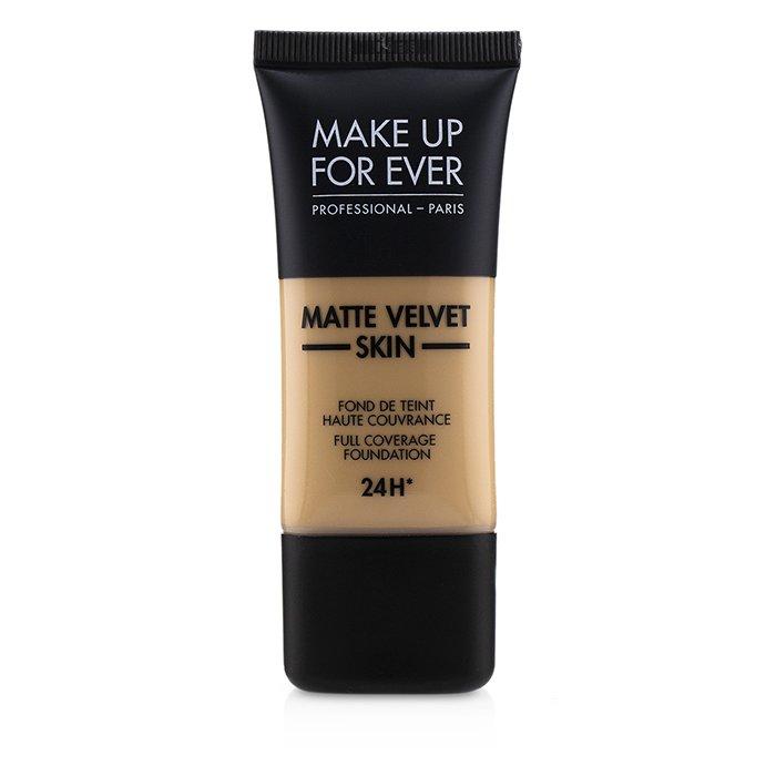 メイクアップフォーエバー Make Up For Ever マット ベルベット スキン フル カバレッジ ファンデーション - # Y335 (Dark Sand) 30ml/1oz 【海外直送】