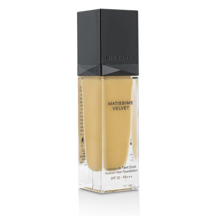 ジバンシィ Givenchy マティシム ヴェルヴェット ラディエント マット フルイド ファンデーション SPF 20 - #06 Mat Gold 30ml/1oz 【海外直送】