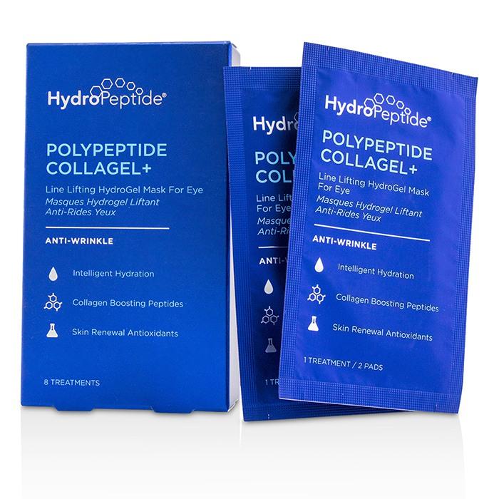 ハイドロペプチド HydroPeptide Polypeptide Collagel+ Line Lifting Hydrogel Mask For Eye 8 Treatments 【海外直送】