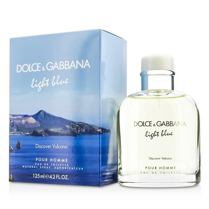 ドルチェ&ガッバーナ  Dolce & Gabbanaライトブルー ディスカバー ヴルカーノ EDT SP125ml/4.2oz【海外直送】