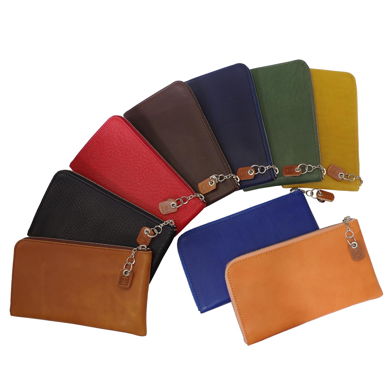 【送料無料】Cramp 財布【イタリアンシュリンク】L字ファスナーロングウォレット(長財布)【Cr-152】