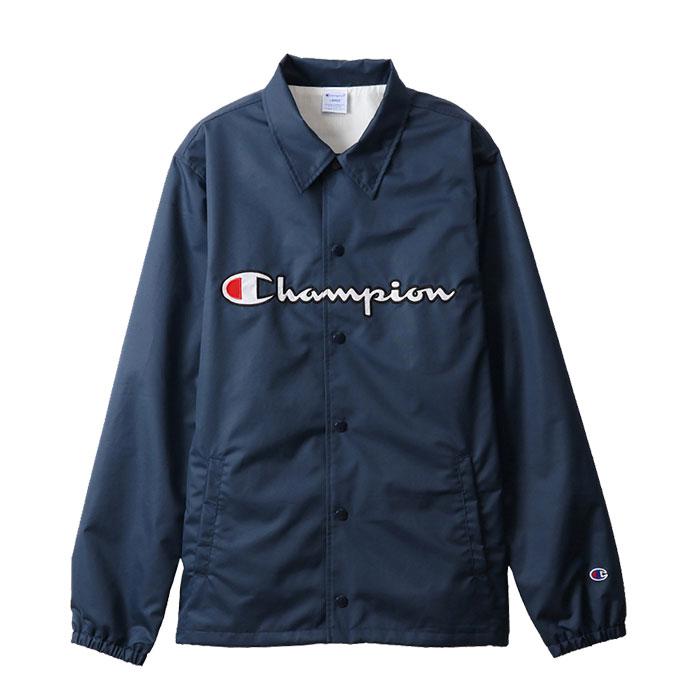 チャンピオン メンズ コーチジャケット カジュアル C3-R608 アクションスタイル アメカジ ネイビー Champion