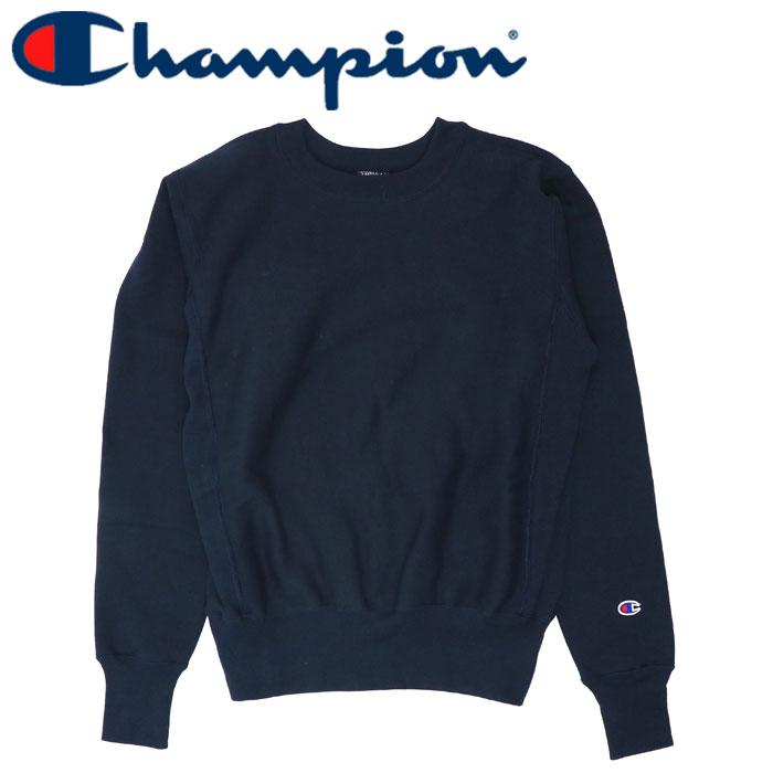 チャンピオン 無地トレーナー クルーネック 赤タグ スウェットシャツ CHAMPION C5-U001