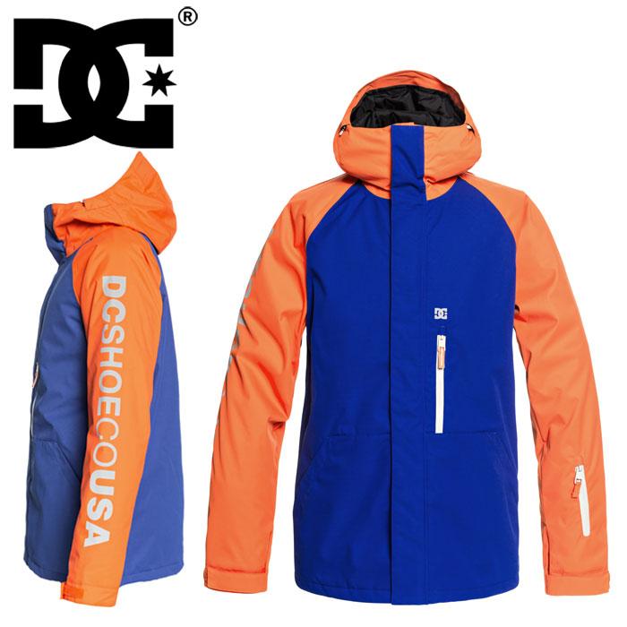 DCSHOES ディーシー スノボウェア オレンジ×ブルー リプレイジャケット スキーウェア DC スノーボード ストリート系 SKATEBOARDING スノーボードウェア 通販 販売 即納 防水 防寒 ジャケツト アウター かっこいい スノボ スノボー SK8
