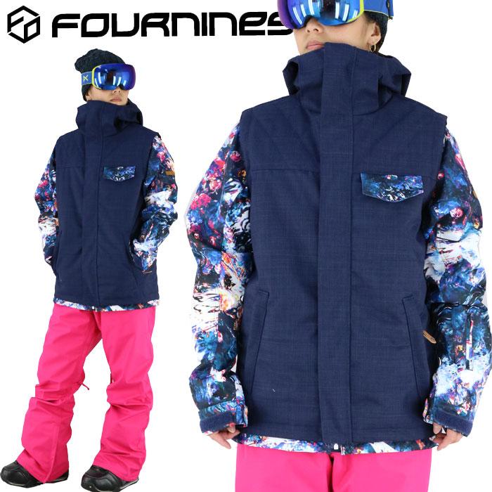 スノボウェア ジャケット ユニセックス フォーナインズ ウェア スノボ スキー スノーボード FOURNINES