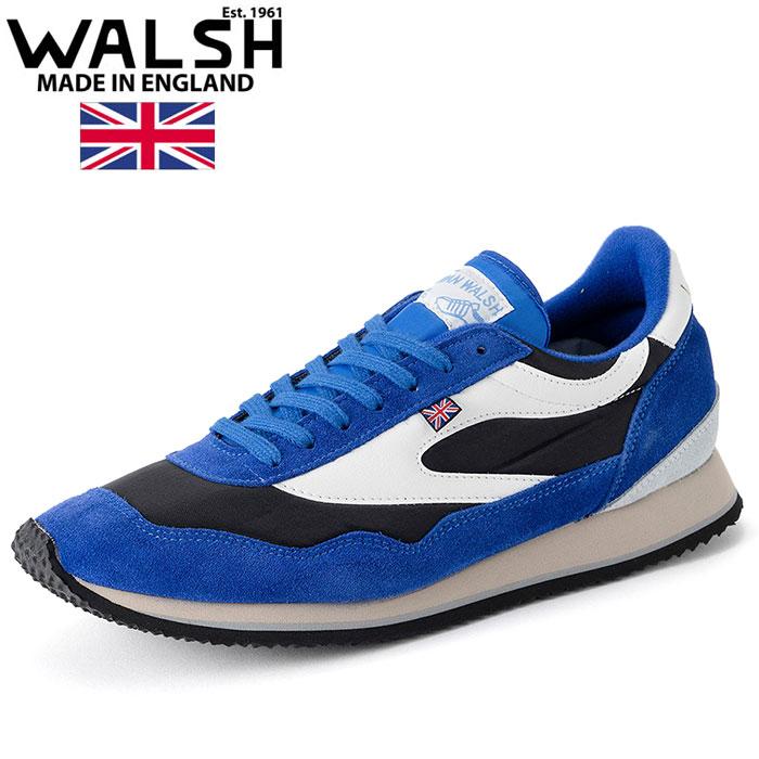 ウォルシュ スニーカー エンサイン クラシック WALSH ENSIGN CLASSIC ブルー ブラック ENC71006