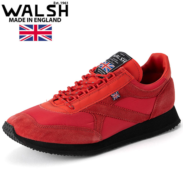 ウォルシュ スニーカー ユニセックス シューズ VOYAGER SP WALSH レッド VOY50022