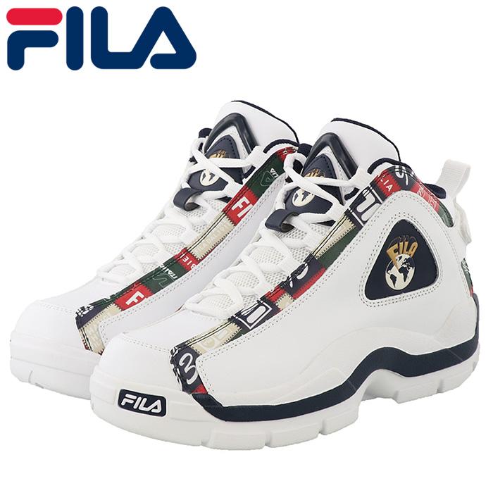 FILA GRANT HILL 2 PATCHWORK 1BM01091 バスケットシューズ スニーカー メンズシューズ 超目玉 バスケットボール メンズ パッチワーク 送料無料激安祭 フィラ グラントヒル バッシュ ストリート ホワイト