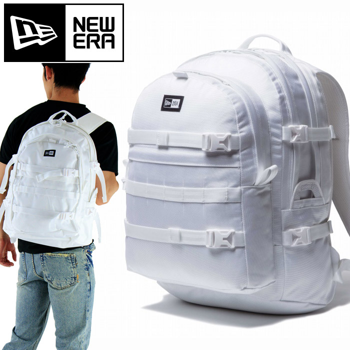 NEWERA(ニューエラ) かばん CARRIER PACK 1680D 2【11404493/WHT】白ホワイト BAG リュックサック デイパック キャリアパック