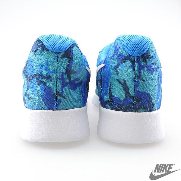 耐克生产工序打印耐克丹绒印有迷彩图案男士运动鞋耐克 819893 414