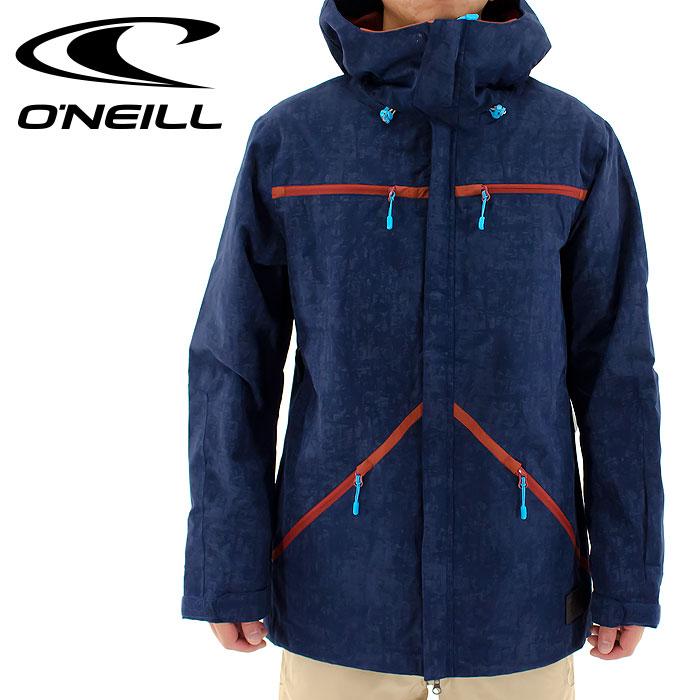 スノーボードジャケット ONEILL スノー メンズジャケット 645101 オニール スノーウェア スノボジャケット スノージャケット スノーボードウェア 2015 ブルー 青色 通販 販売 即納 人気