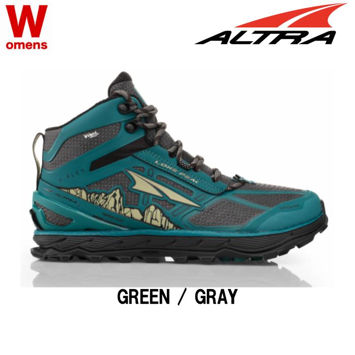 ALTRA LONEPEAK4 初売り MID RSM WOMENS アルトラ ローンピーク4 防水 登山 ウィメンズ 至上 軽量 登山靴 ミッド トレッキングシューズ