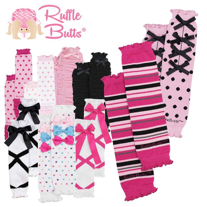 メール便送料無料 レッグウォーマー 日本 ベビー 正規品 ブルマ パンツ フリル Rufflebutts 女の子 あす楽対応 注文後の変更キャンセル返品 ラッフルバッツ Butts セール 出産祝い メール便 Ruffle ベビー服